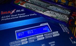 iMax B6AC V2 laturin mittaamat sisäisen resistanssin arvot vähän käytetylle LiPo-akulle