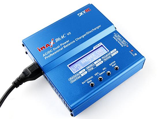 iMaxin B6AC V2 automaattilaturi useimmille akkutyypeille